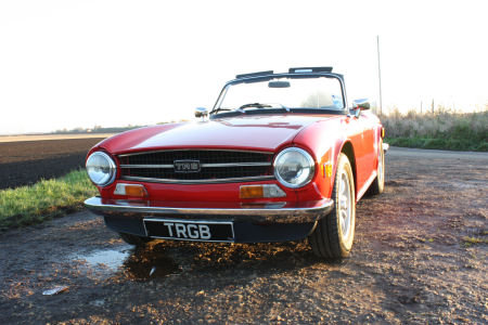 TR6 1973 ORIGINAL UK FUEL INJECTED CAR WITH OVERDRIVE. SOLD (picture 1 of 6)