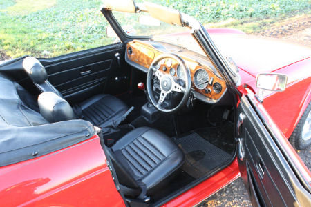 TR6 1973 ORIGINAL UK FUEL INJECTED CAR WITH OVERDRIVE. SOLD (picture 2 of 6)