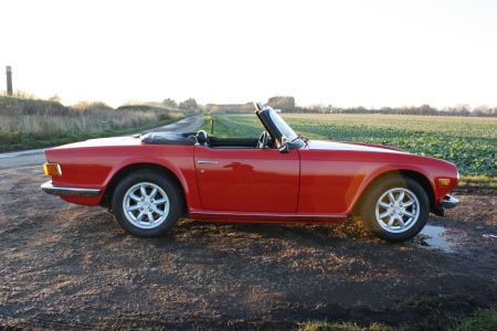 TR6 1973 ORIGINAL UK FUEL INJECTED CAR WITH OVERDRIVE. SOLD (picture 5 of 6)