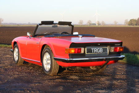 TR6 1973 ORIGINAL UK FUEL INJECTED CAR WITH OVERDRIVE. SOLD (picture 6 of 6)
