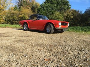 1973 Triumph TR6 CR uk homemarket injection  SOLD