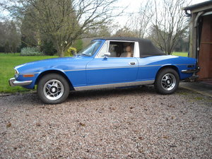 1977 TRIUMPH STAG MK2 MANUAL O/D TOTAL NUT AND BOLT REBUILD