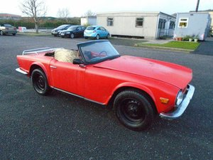 TRIUMPH TR6 2.5 LHD CONVERTIBLE(1973) MIMOSA!  For Sale
