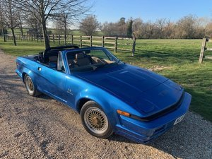 1980 TR8  HUGE AMOUNT  SPENT  MASSIVE  HISTORY  FILE £20k CONVERS