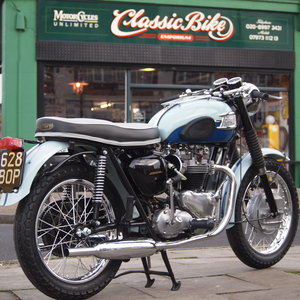 1960 T120 650cc Pre Unit, Duplex Frame, Lift Up Seat Conversion. For Sale