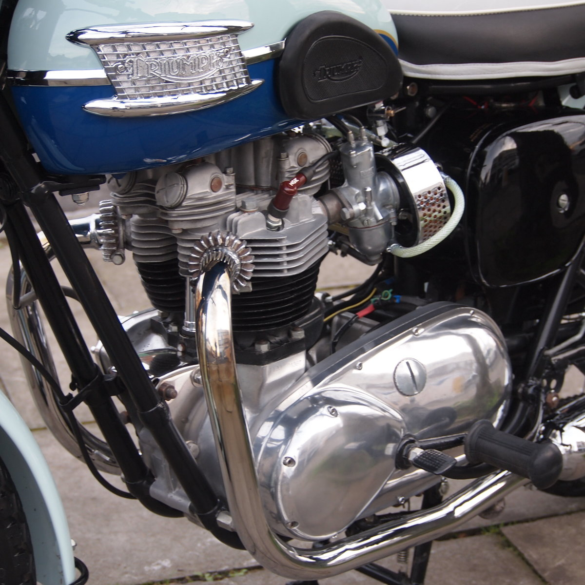 1960 T120 650cc Pre Unit, Duplex Frame, SOLD TO TONY. SOLD (picture 4 of 6)