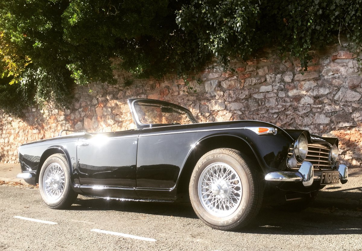1965 Triumph TR4 irs  For Sale (picture 1 of 6)