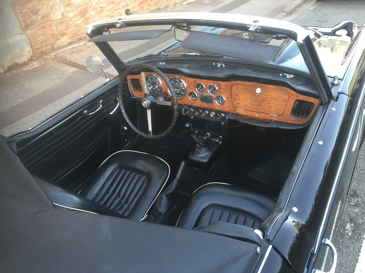 1965 Triumph TR4 irs  For Sale (picture 4 of 6)