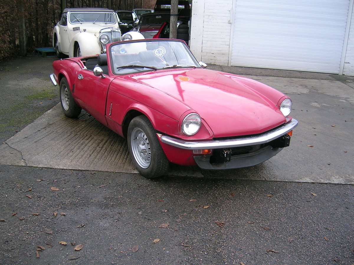 1976 Triumph Spitfire 1500 Restoration Project Extra Engine For Sale (picture 2 of 6)