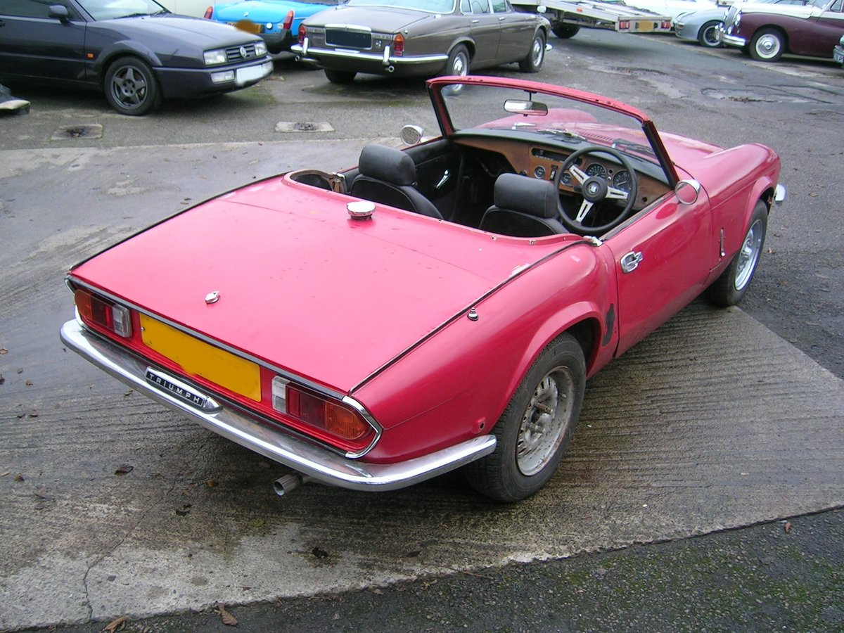 1976 Triumph Spitfire 1500 Restoration Project Extra Engine For Sale (picture 3 of 6)