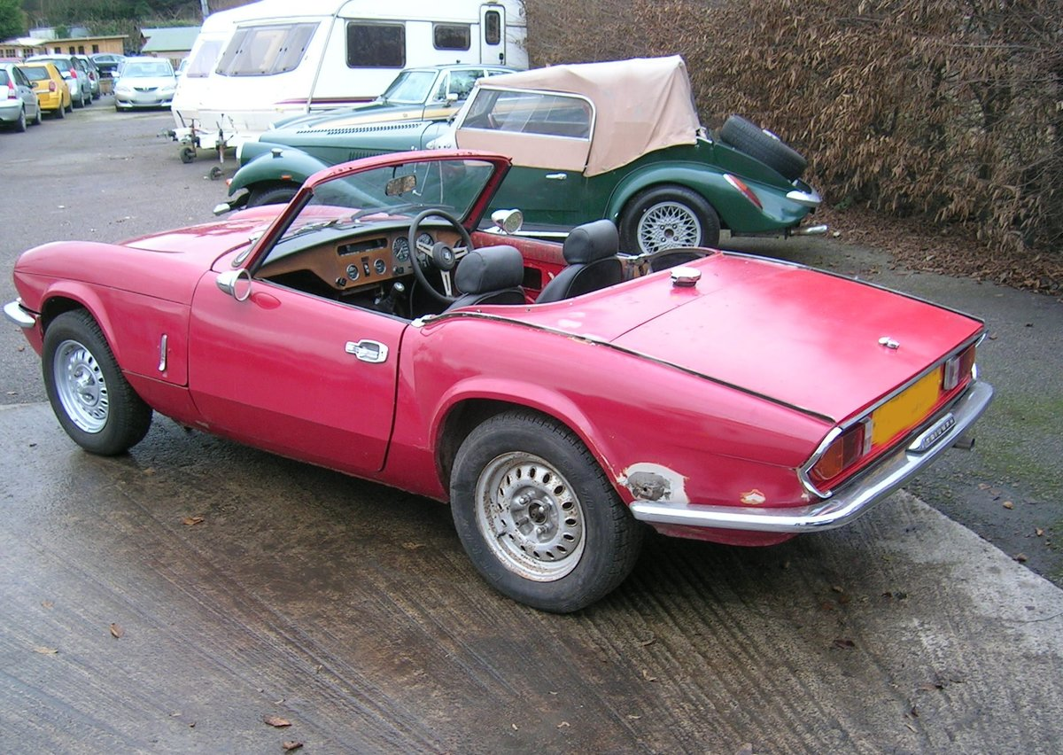 1976 Triumph Spitfire 1500 Restoration Project Extra Engine For Sale (picture 4 of 6)
