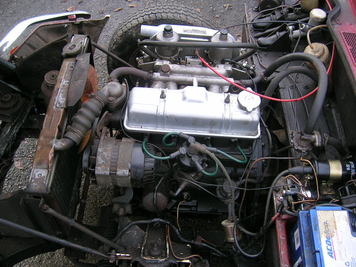1976 Triumph Spitfire 1500 Restoration Project Extra Engine For Sale (picture 5 of 6)