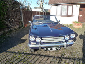 1969 Triumph Vitesse 2 Litre MK2 Convertible For Sale