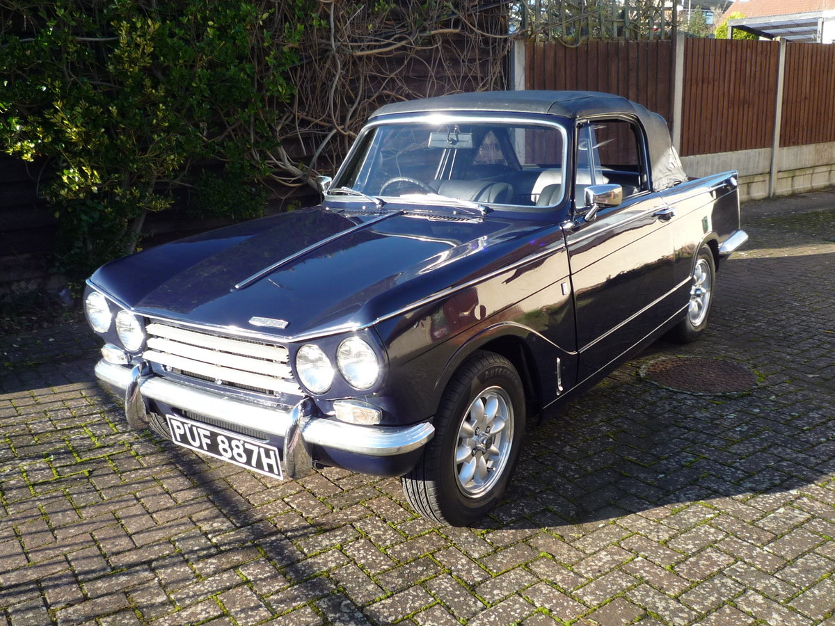 1969 Triumph Vitesse 2 Litre MK2 Convertible SOLD (picture 2 of 6)