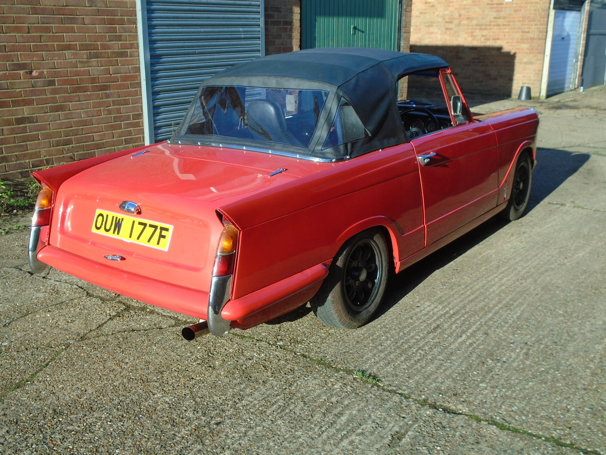 1967 Herald 1200 Convertible Modified  For Sale (picture 1 of 6)