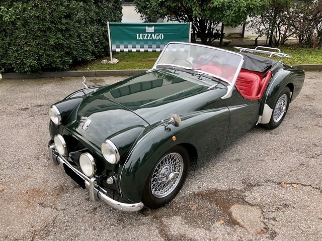 1955 TRIUMPH - TR2 RHD For Sale (picture 1 of 6)