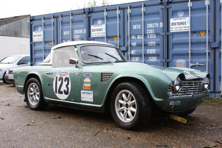 1964 Triumph TR4 Race car Solid build quality  SOLD (picture 1 of 6)