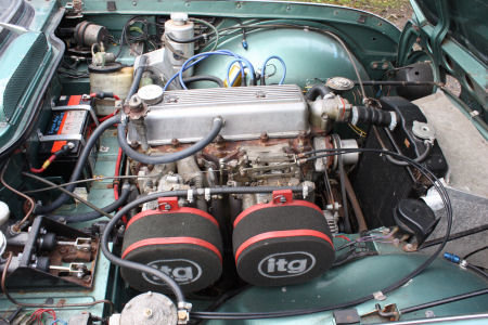 1964 Triumph TR4 Race car Solid build quality  SOLD (picture 4 of 6)