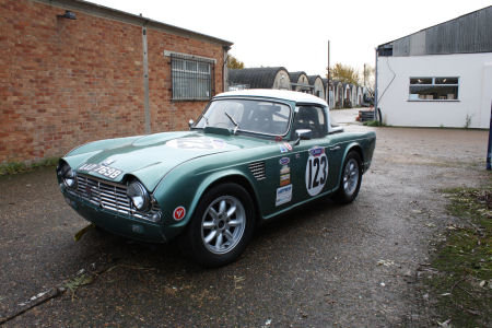 1964 Triumph TR4 Race car Solid build quality  SOLD (picture 5 of 6)