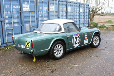 1964 Triumph TR4 Race car Solid build quality  SOLD (picture 6 of 6)