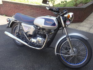 1977 Classic british motorcycle