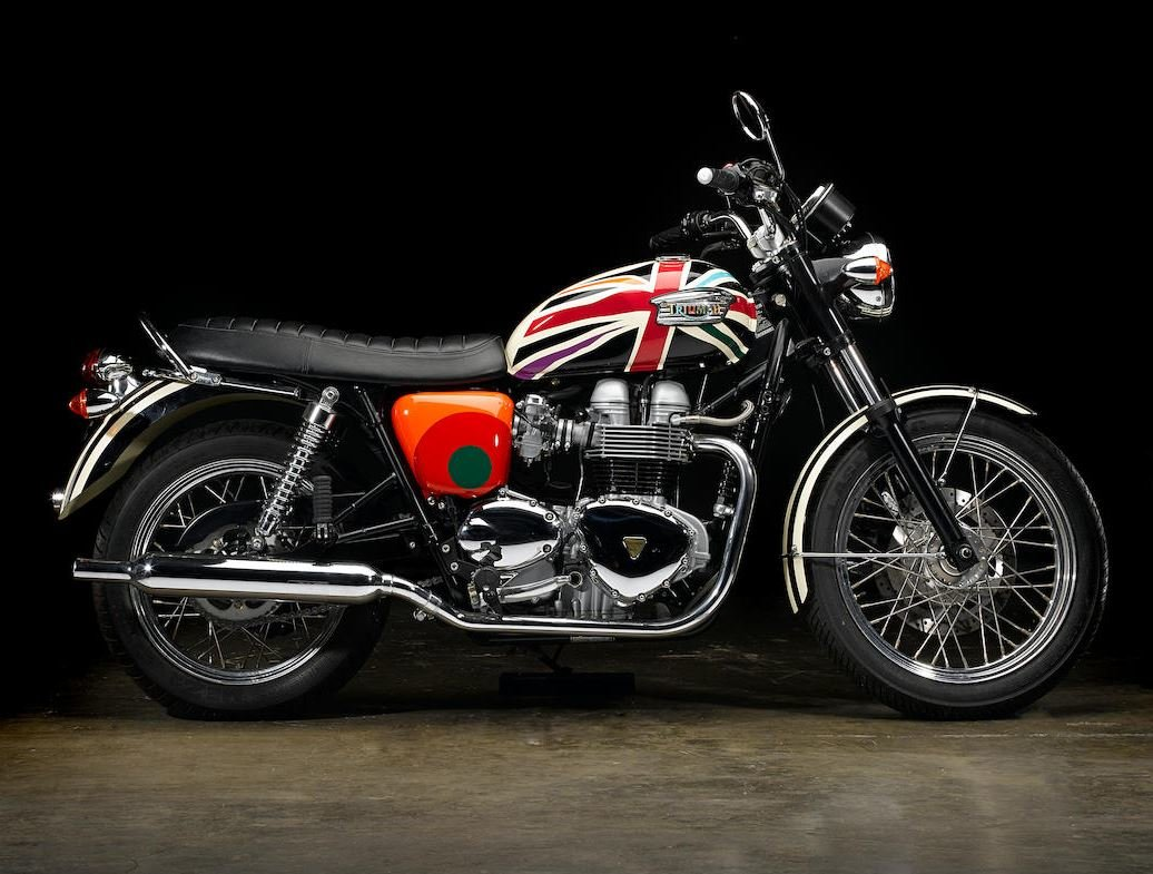2006 Limited Edition Triumph Bonneville T100 by Paul Smith For Sale (picture 1 of 6)