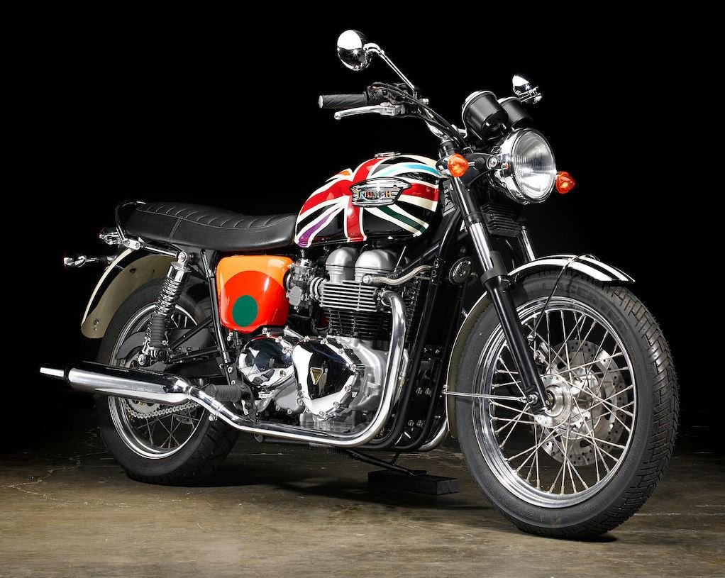 2006 Limited Edition Triumph Bonneville T100 by Paul Smith For Sale (picture 2 of 6)