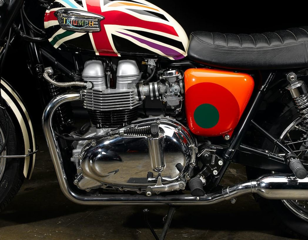 2006 Limited Edition Triumph Bonneville T100 by Paul Smith For Sale (picture 3 of 6)