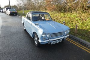 Triumph Vitesse Convertible 1969 - To be auctioned 31-01-20