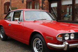 1973 Triumph Stag Mk1 1970 4 Speed ZF Auto Gearbox Fully Restored For Sale