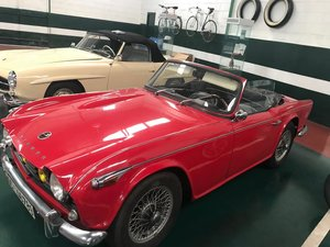 Triumph tr4 irs full restored