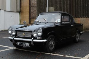 Triumph Vitesse Convertible 1964 - To be auctioned 31-01-20