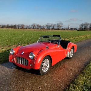 1959 Triumph TR3 '59  lhd SOLD