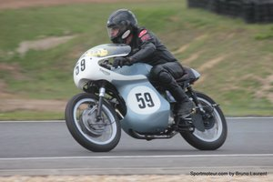1969 Triumph Daytona T100R racing bike. For Sale