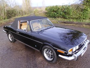 Picture of 1977 Triumph stag Mk2 manual with overdrive SOLD