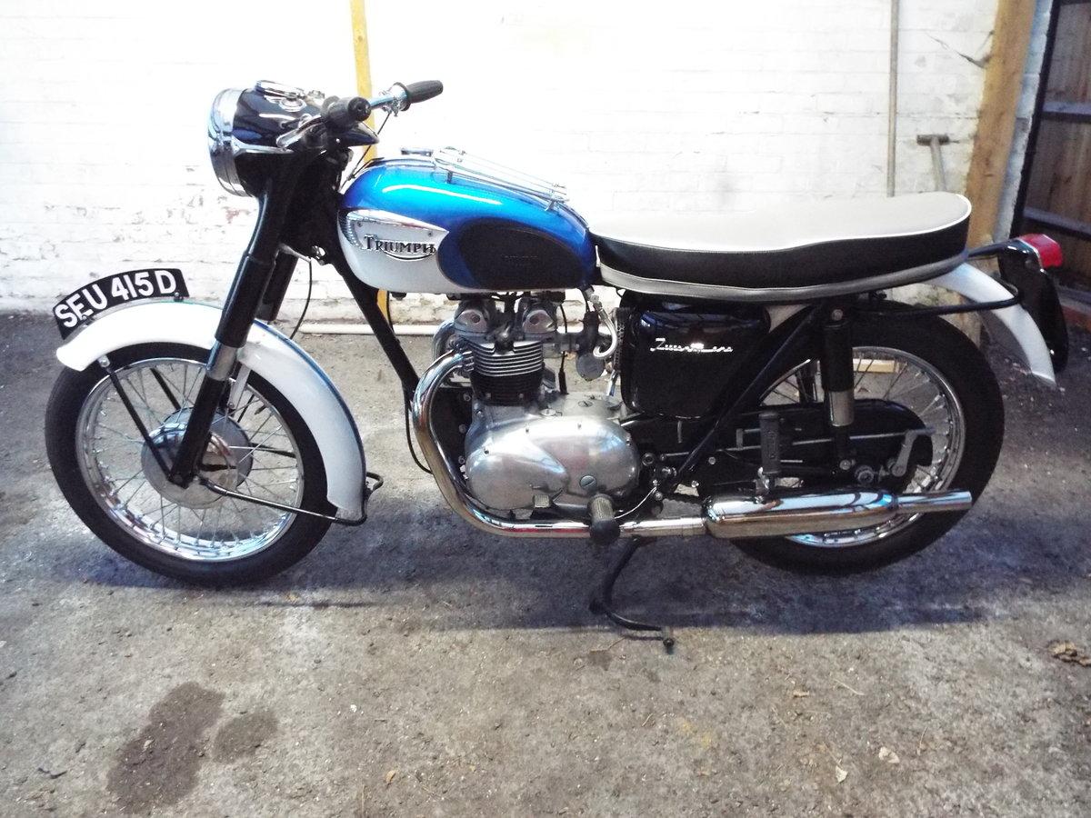 1966 Triumph 21/3TA 350cc  For Sale (picture 1 of 6)