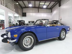 Delft Blue 1976 Triumph TR6 Roadster