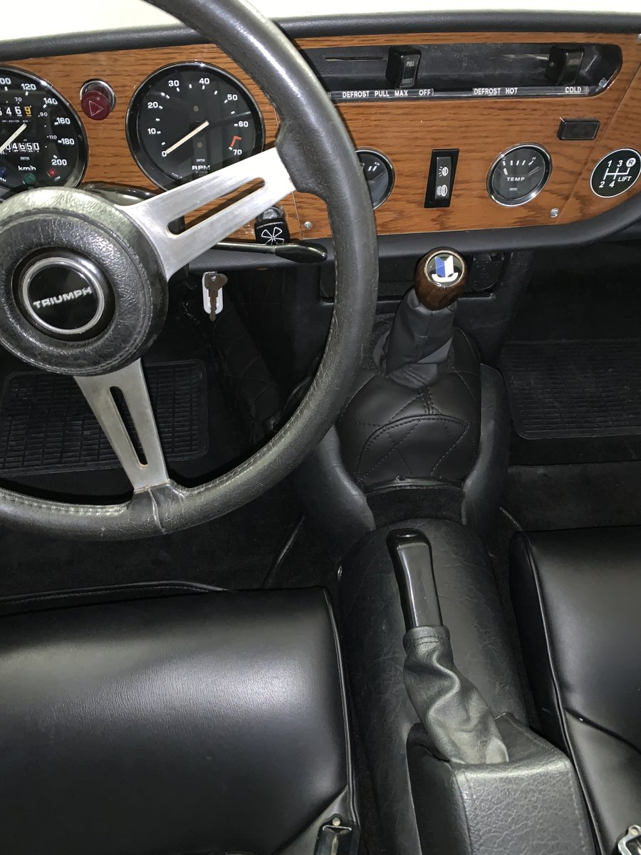 1977 Superb Spitfire 1500 with hard top and 2nd engine For Sale (picture 4 of 6)