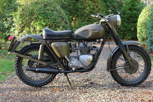 Triumph Dutch Army 350 1967 SOLD