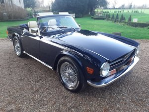 1973 Triumph TR6 - Concours condition For Sale