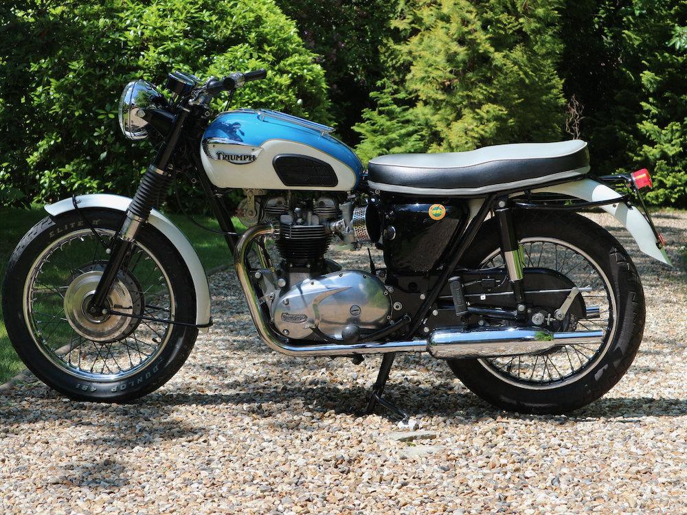 Triumph Bonneville 650 1965 For Sale (picture 2 of 6)