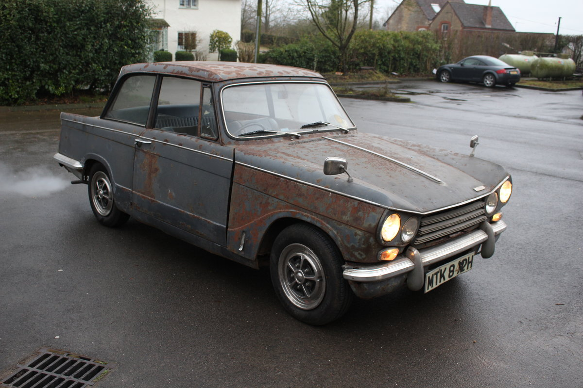 1970 Triumph vitesse mk2 running project SOLD (picture 1 of 6)