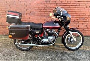 **REMAINS AVAILABLE** 1981 Triumph 750 Bonneville