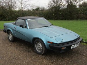 1980 Triumph TR7 Convertible at ACA 25th January 2020