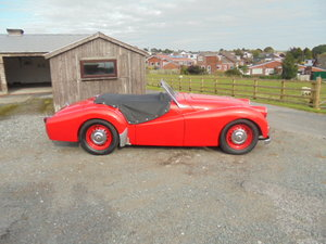 1954 Triumph TR2 Long Door