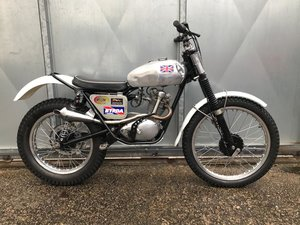 1962 TRIUMPH TIGER CUB TRIALS VERY WELL SORTED ROAD REGD WITH V5