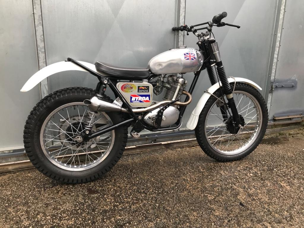1962 TRIUMPH TIGER CUB TRIALS VERY WELL SORTED ROAD REGD WITH V5  For Sale (picture 2 of 6)