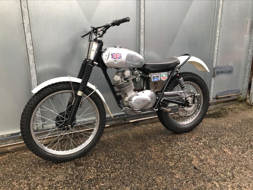1962 TRIUMPH TIGER CUB TRIALS VERY WELL SORTED ROAD REGD WITH V5  For Sale (picture 5 of 6)