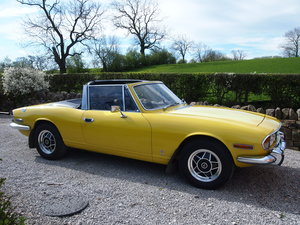 1972 Triumph Stag Manual OD, hardtop, previous resto For Sale