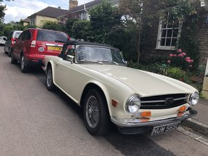 1973 Triumph TR6 in great condition Low mileage  For Sale